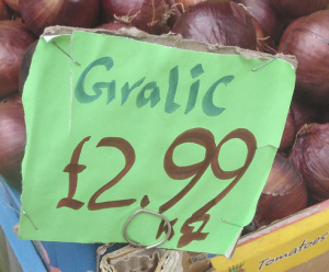 SBL_misspelled garlic