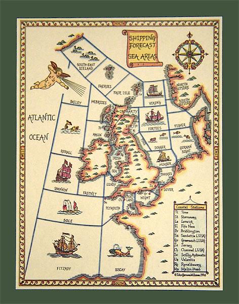 shippingforecastmap